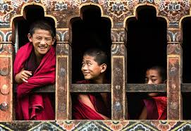 Bhutan believes that happiness can be achieved without mindless pursuit of money.
