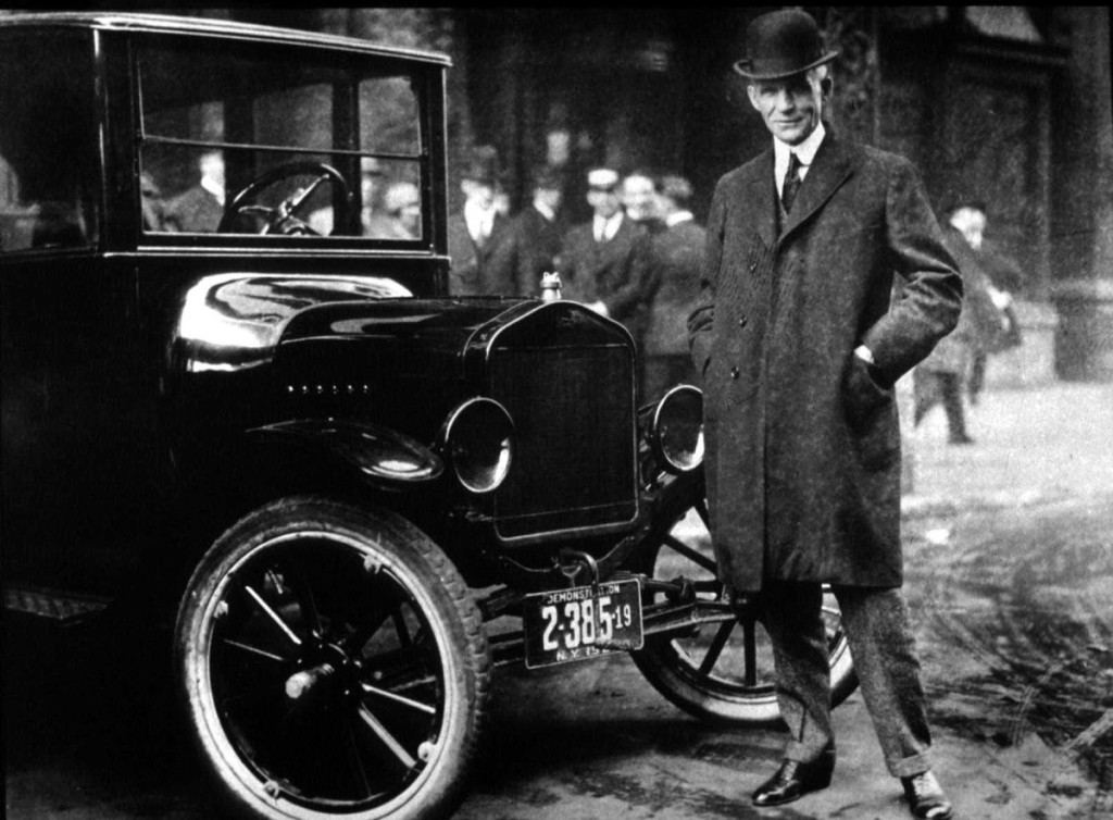 Henry Ford started the Ford Motor company post 40 years of age.