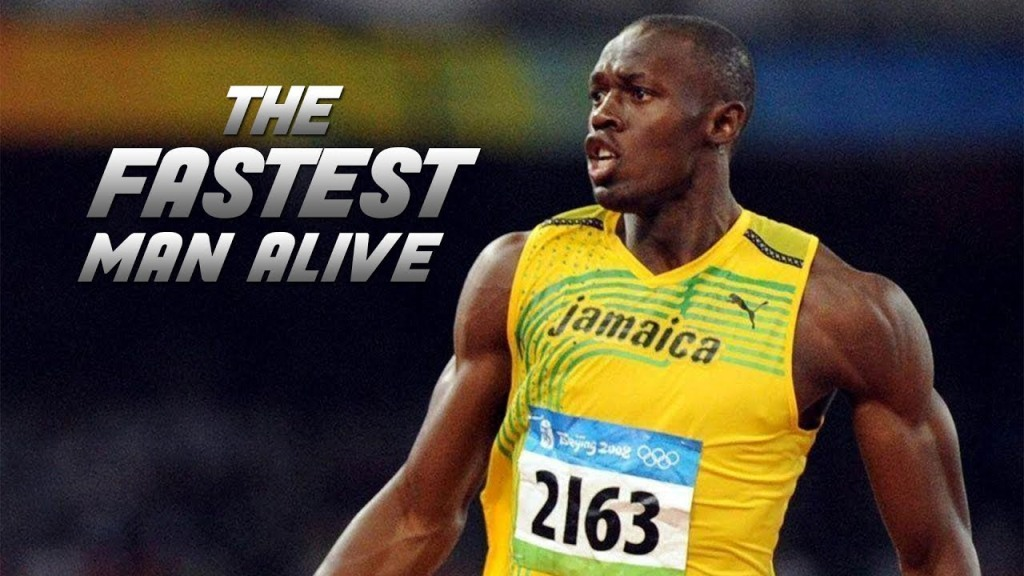 Usain Bolt is is a passionate athlete