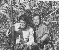 Norio Suzuki with Hiro Onoda