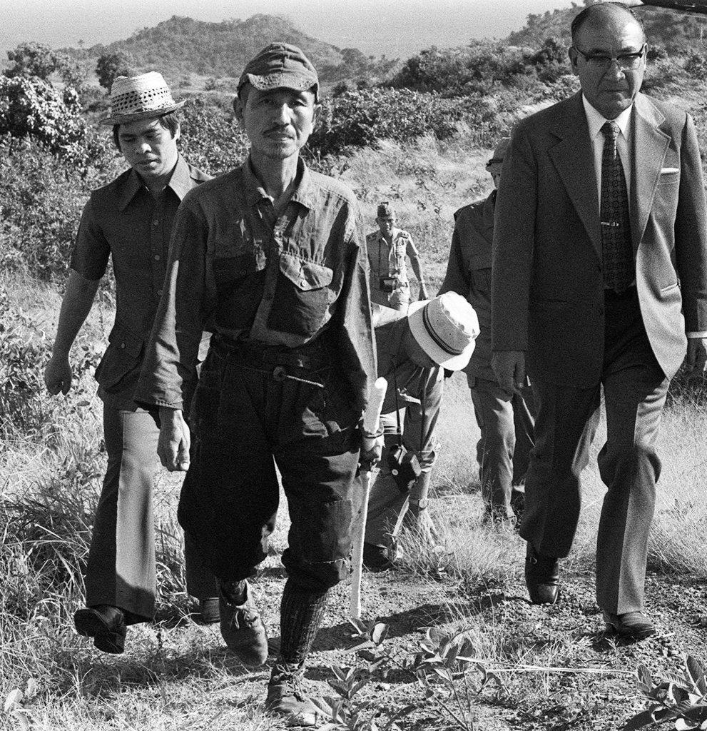 Hiro Onoda: Walking out