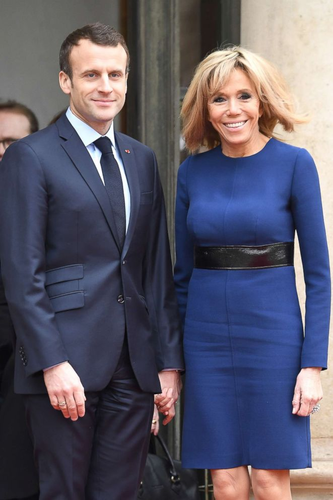 The French President Emmanuel Macron is 25 years younger than his wife Brigitte Macron.