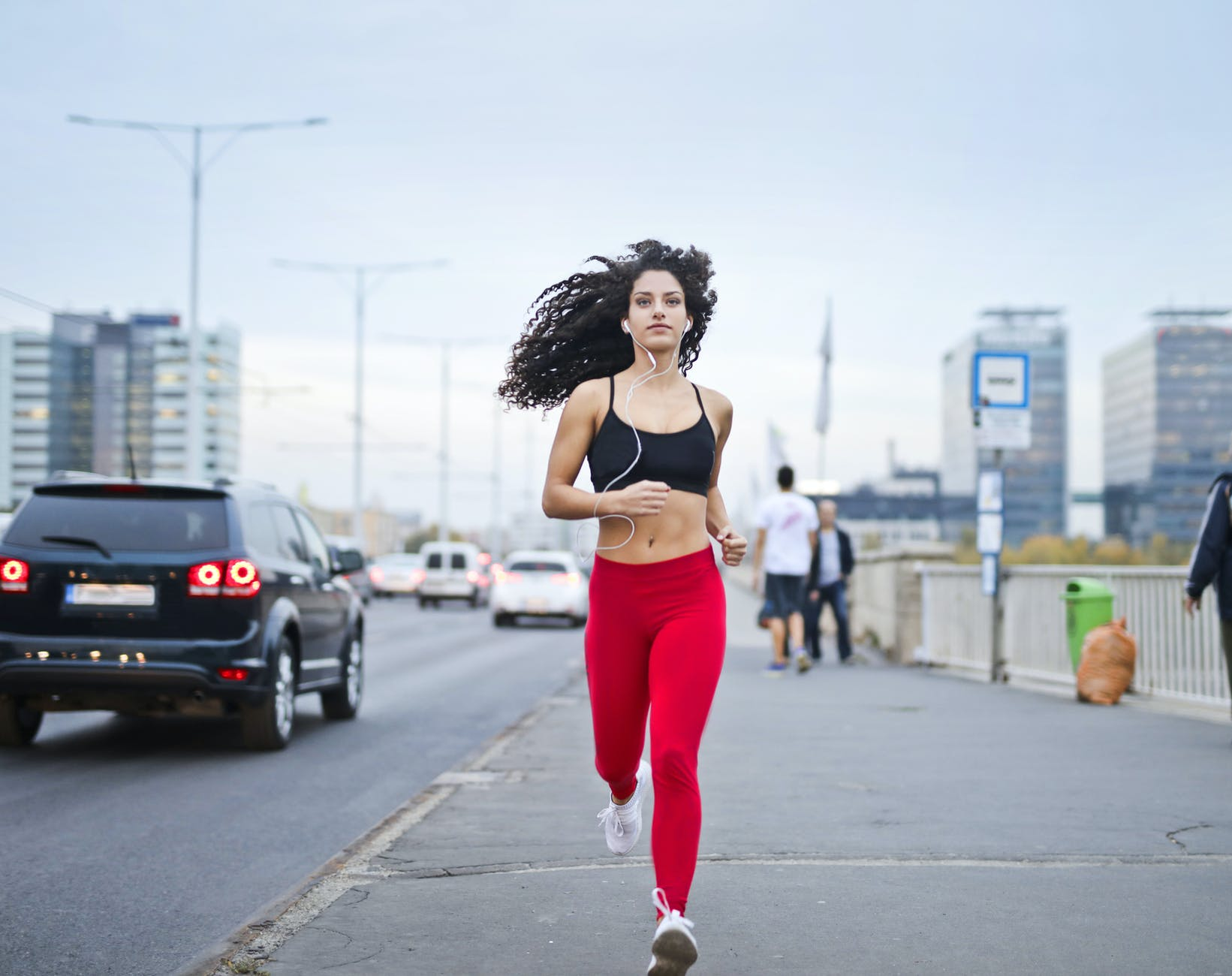 Running releases happiness hormones.