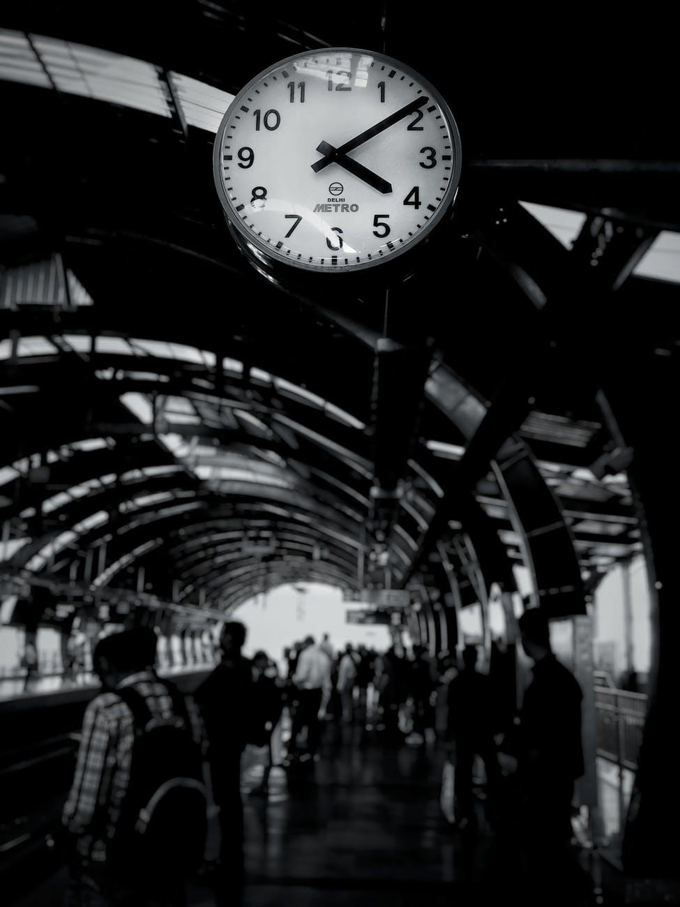 The rush hour.