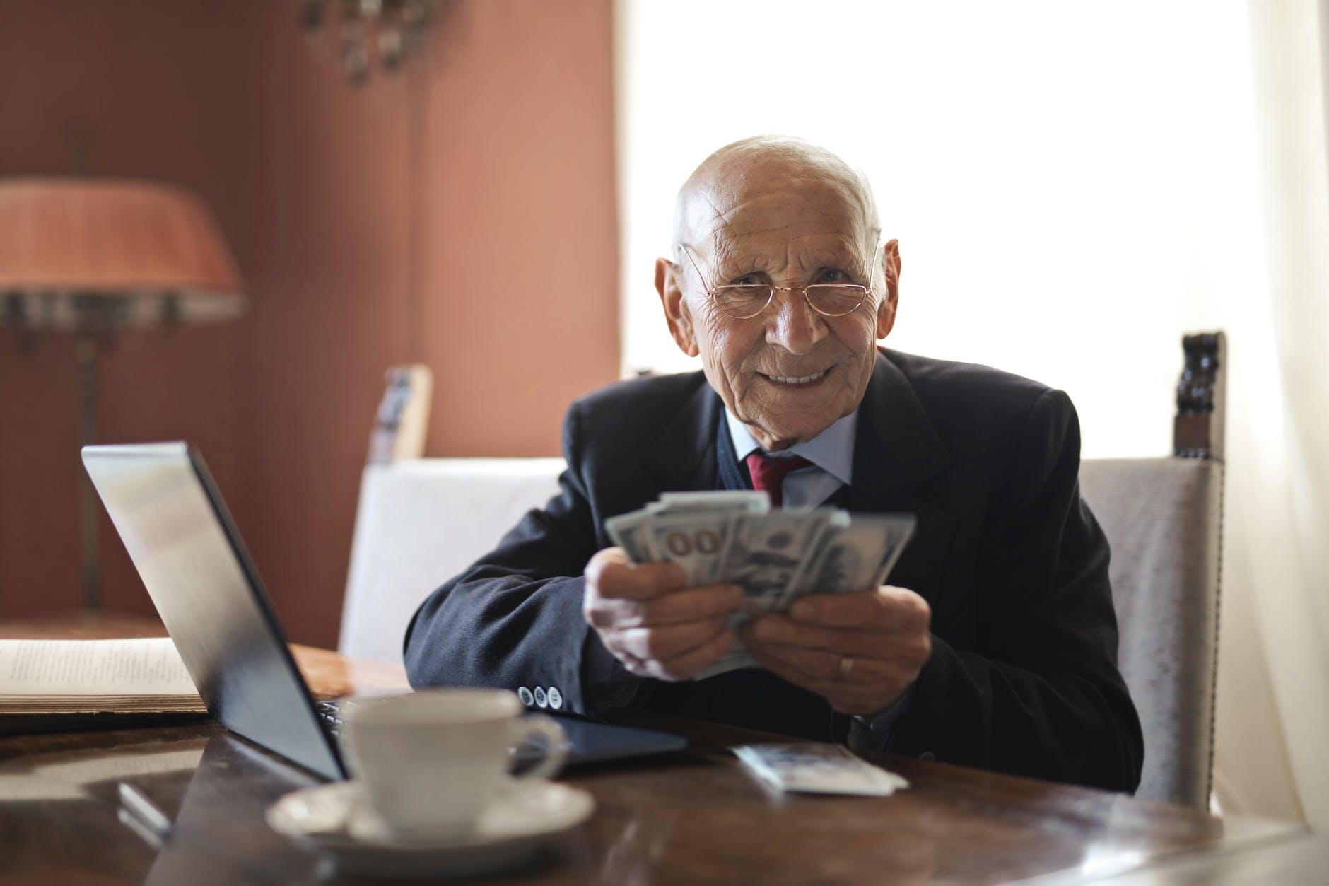 Positive people live longer.