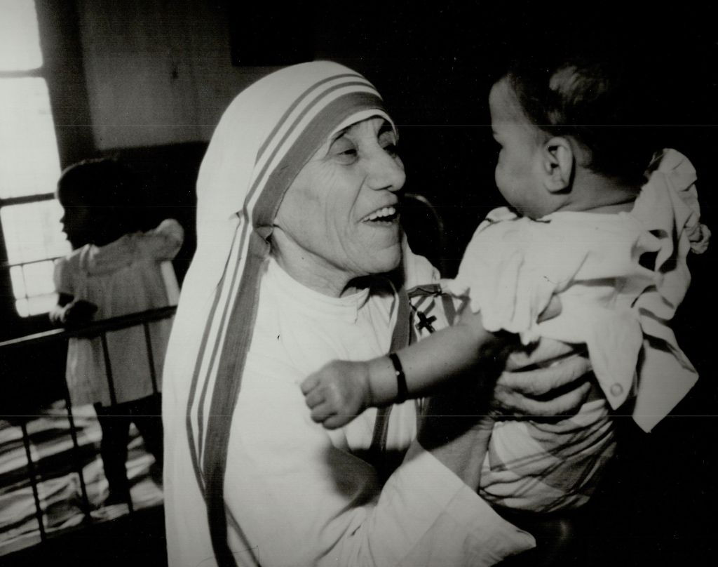 Mother Teresa was beautiful.